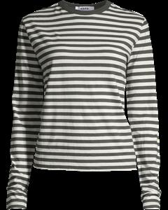 Base Ls Tee Black Stripe