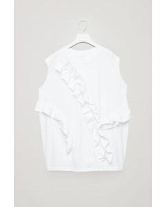Cocoon Vest Top White