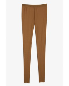 Mesh Leggings Toffee Brown