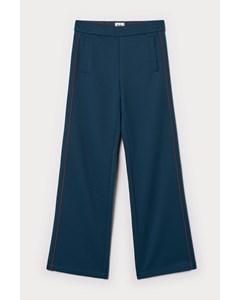Western Track Pants Blue