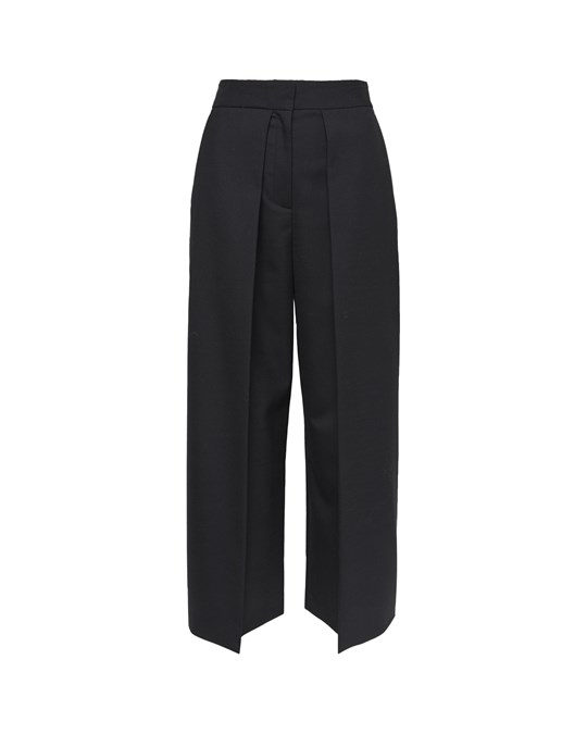 French Connection French Connection - Straight Trousers And Wide Flaps Of Folded Fabric On The Front - Woman