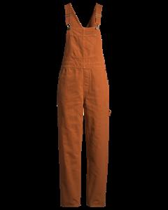 Ciara Denim Dungarees Orange