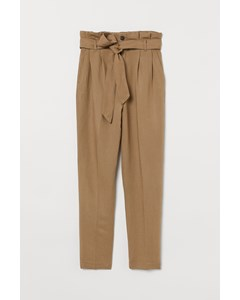 Dak Tapered Pantalon Beige