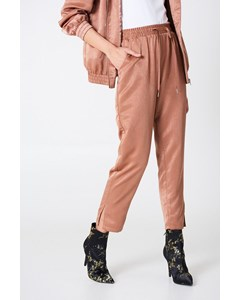 Satin Pants Terracotta