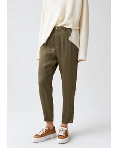 Krissy Trouser Khaki Green