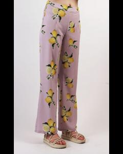 Adone Trousers Lilac Lemon
