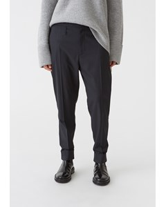 Law Trousers Navy Stripe