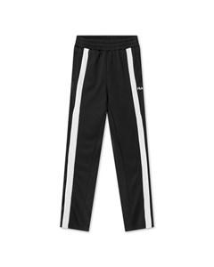 Women Sachika Track Pants - Overlength Black-bright White