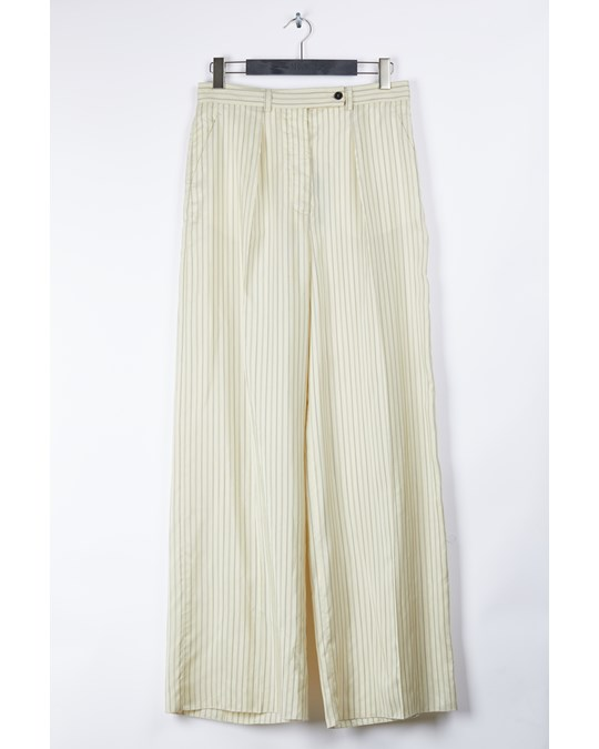 Mulberry Baily Trousers Cream Stripes
