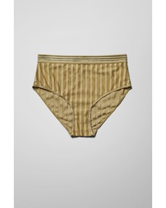 Rico Highwaist Briefs Khaki