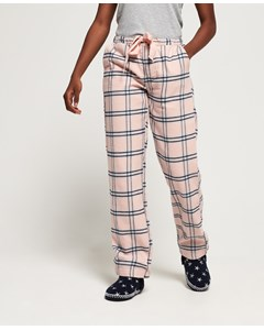 Millie Loungewear Pant Pink Check