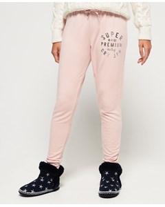 Bella Loungewear Skinny Jogger Rose Pink Marl