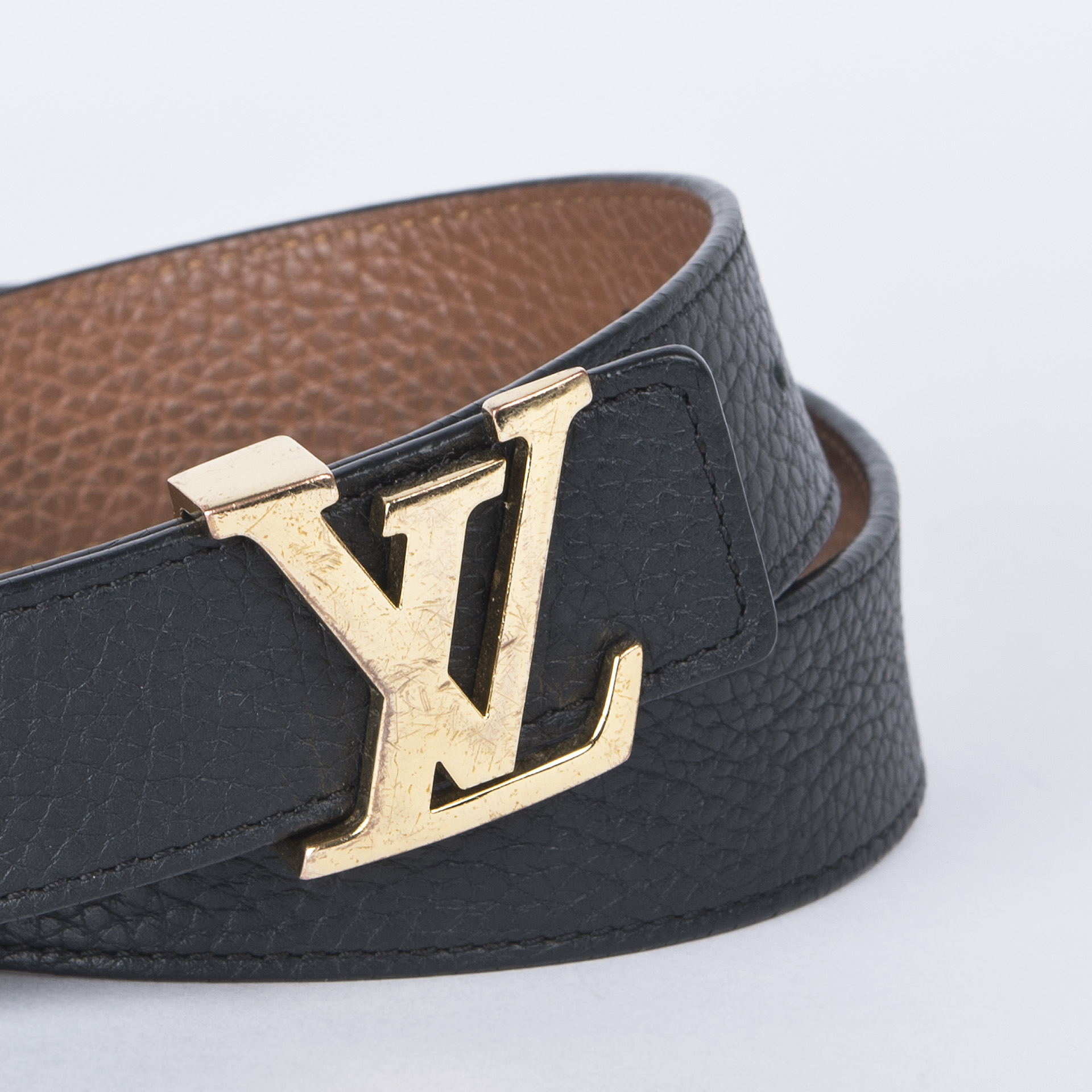 f8160bc38584 Louis Vuitton Initiales Reversible 30 Mm Belt - LOUIS VUITTON Initiales  Reversible 30 mm Belt i