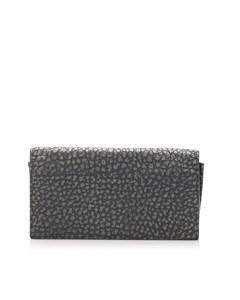 Bottega Veneta Leather Bifold Wallet Black