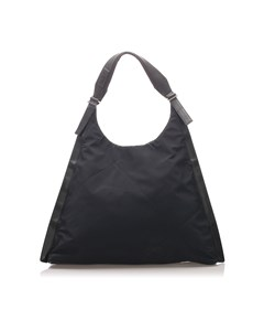 Ferragamo Nylon Tote Bag Black