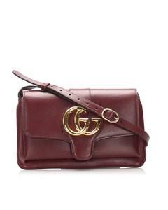 Gucci Small Arli Crossbody Bag Red