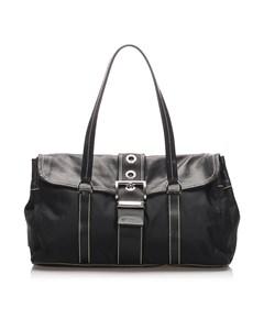 Prada Tessuto Easy Shoulder Bag Black