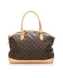 Louis Vuitton Monogram Lockit Horizontal Brown