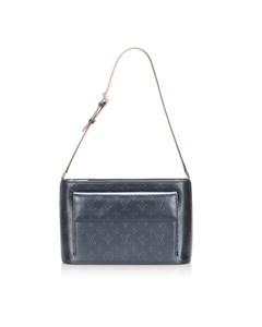 Louis Vuitton Monogram Glace Alston Blue